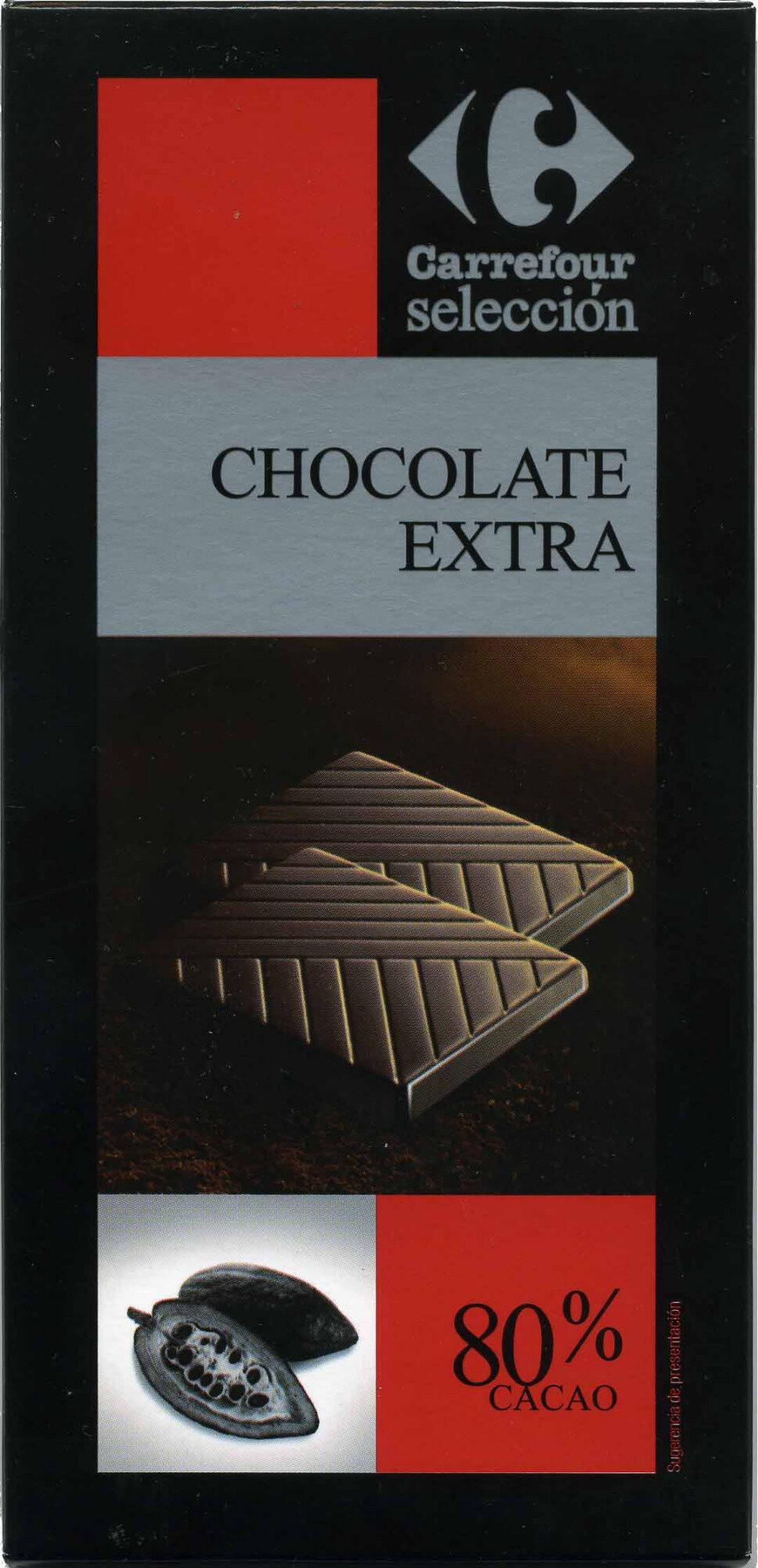 Selección - Chocolate negro 80% cacao - Producto - es
