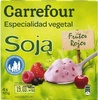 Especialidad vegetal Soja Frutos rojos - Producte