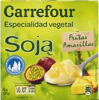 Especialidad vegetal soja frutas amarillas - Producto