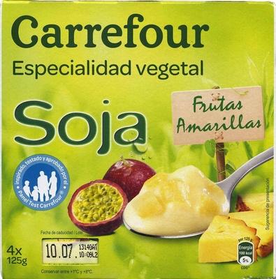 Especialidad vegetal soja frutas amarillas - Product - es