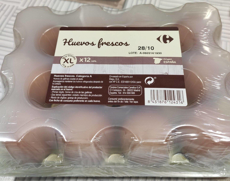 Huevos frescos XL - Product - es
