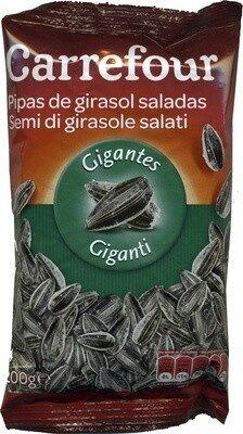 Semillas de girasol con cáscara tostadas con sal - Product - es