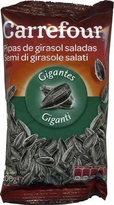 Semillas de girasol con cáscara tostadas con sal - Producto - es