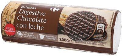 Galletas digestive chocolate con leche