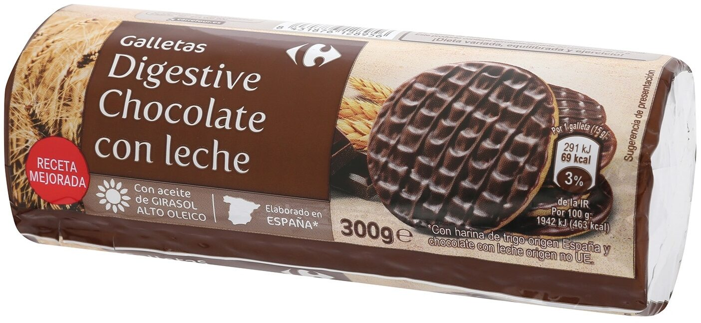 Galletas Digestive Chocolate con Leche - Product