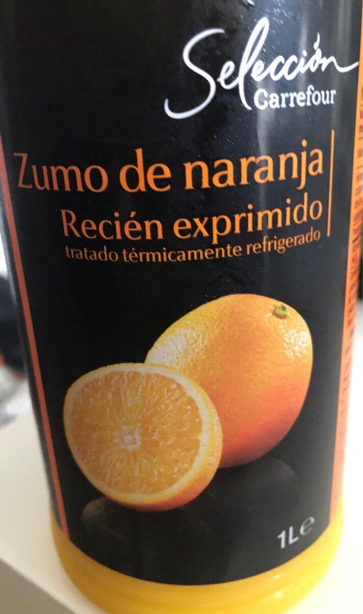 Jus d'orange/zumo de naranja - Producto - es