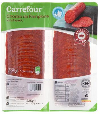 Chorizo pamplona lonchas - Produit - es