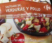 Salteado de verduras y pollo - Producte - es