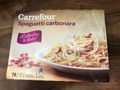 Spaguetti carbonara - Produit - fr