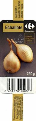 Echalotes - Ingredientes - es