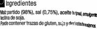 Tortitas de maíz - Ingredientes
