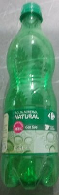 Agua mineral natural con gas - Product