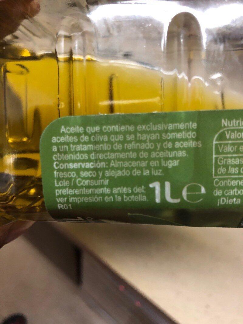 Aceite de oliva intenso - Ingredientes - es