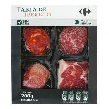 Tabla ibéricos (paleta+lomo+chorizo+salchichón) - Producte
