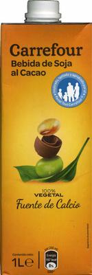 Bebida de soja con cacao - DESCATALOGADO - Producto