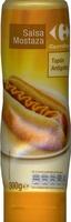 "Salsa de mostaza ""Carrefour"" - Producto"