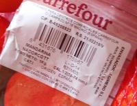 Mandarina - Ingredientes