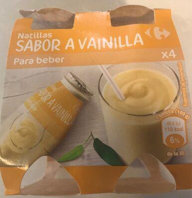 Natillas para beber sabor a vainilla - Producte - es