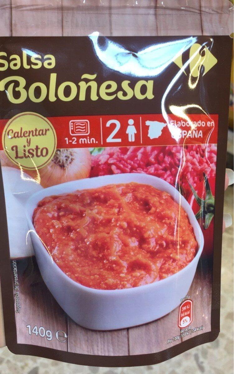 Salsa boloñesa - Producto