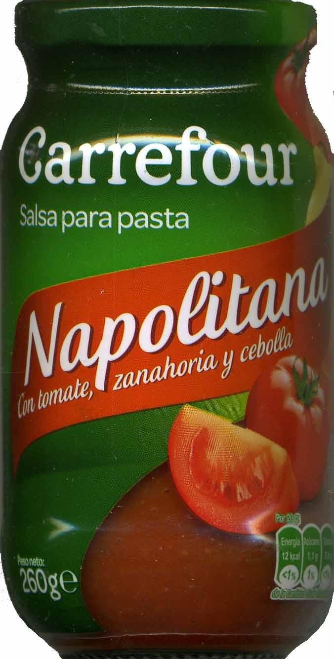 "Salsa napolitana ""Carrefour"" - Producto - es"