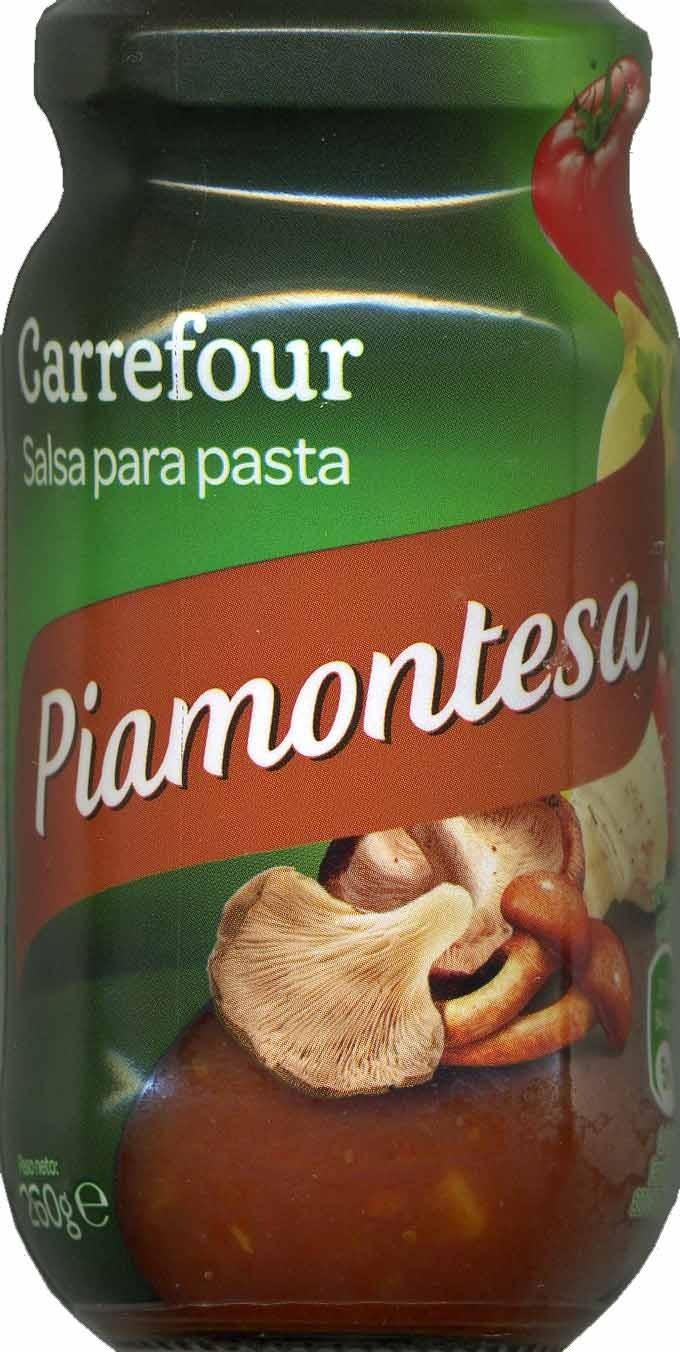 Salsa para pastas Piamontesa - Producto