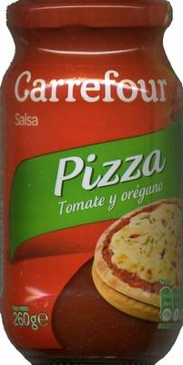 """Salsa de tomate para pizza """"Carrefour"""" Con orégano - Producto"""