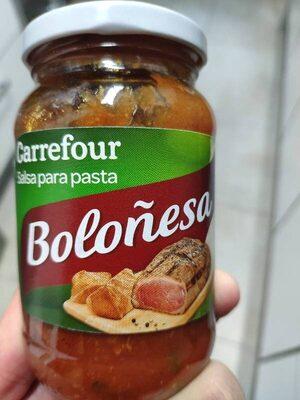 Salsa boloñesa - Producto - es