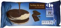 Tortitas de arroz integral con chocolate - Producte