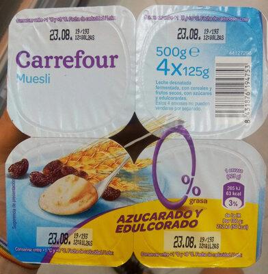 Yogur Muesli - Product