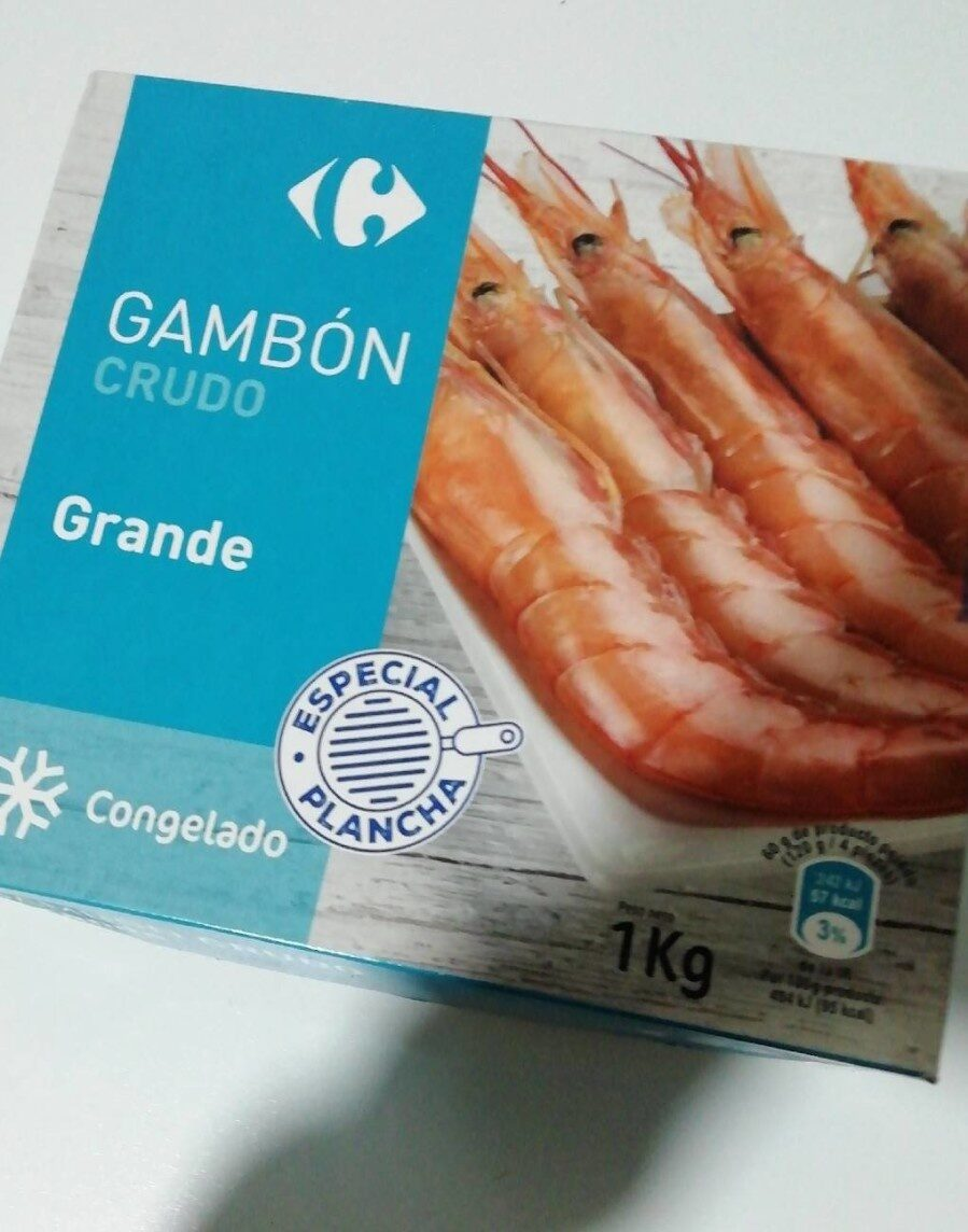Gambon - Información nutricional - es