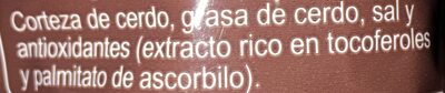 Cortezas de cerdo - Ingredients - es