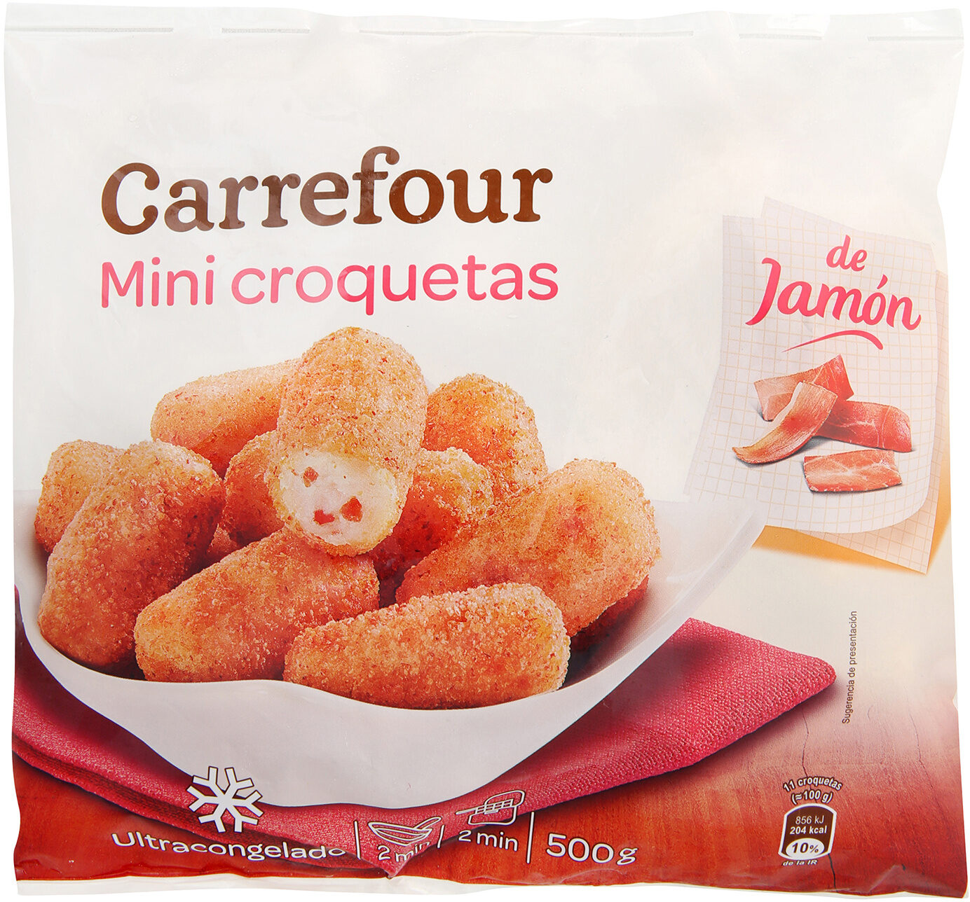 Mini croquetas de jamón - Producte - es