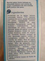 Barrita sust yogur limon - Ingredients - es