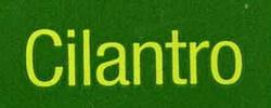 Hojas de cilantro fresco - Ingredientes