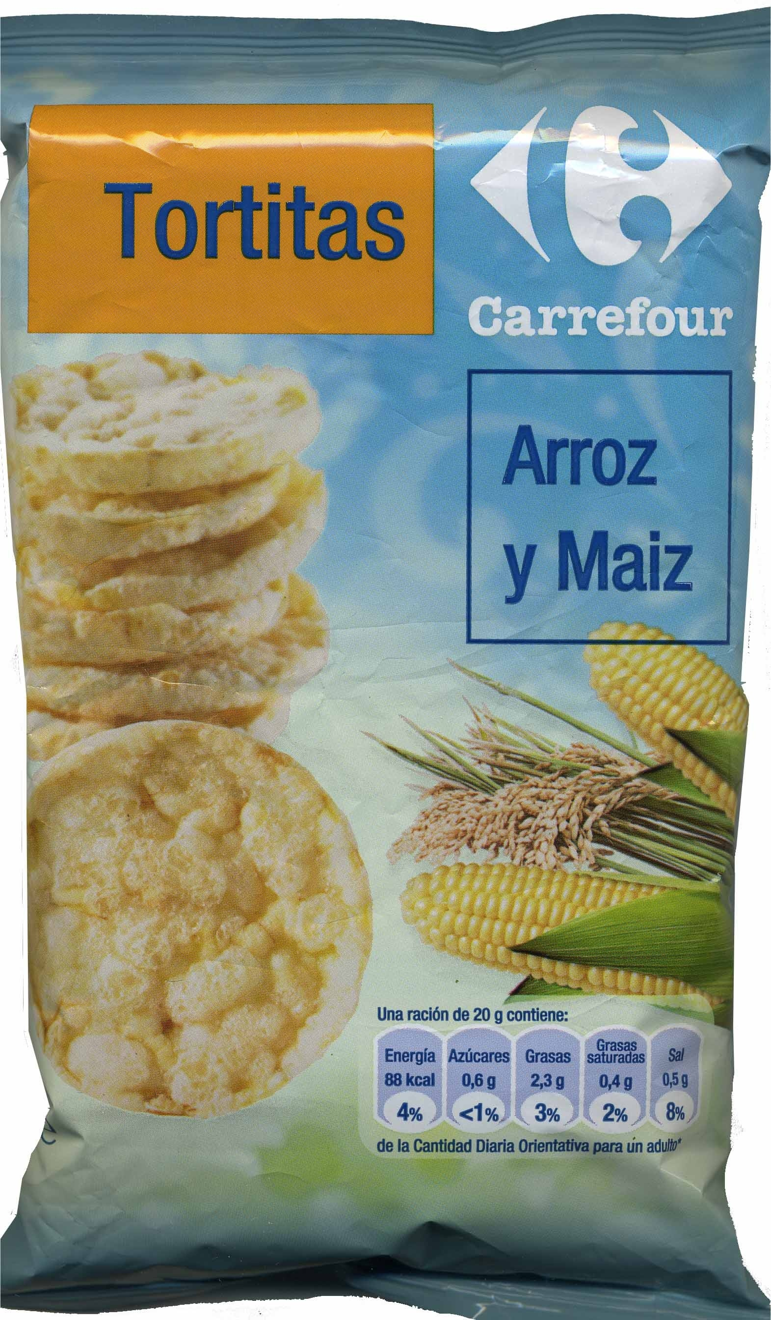 Tortitas de arroz y maíz - Produit