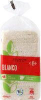 Pan de molde blanco sin corteza - Producto - es