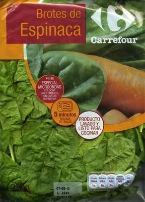 Brotes de Espinacas - Producto