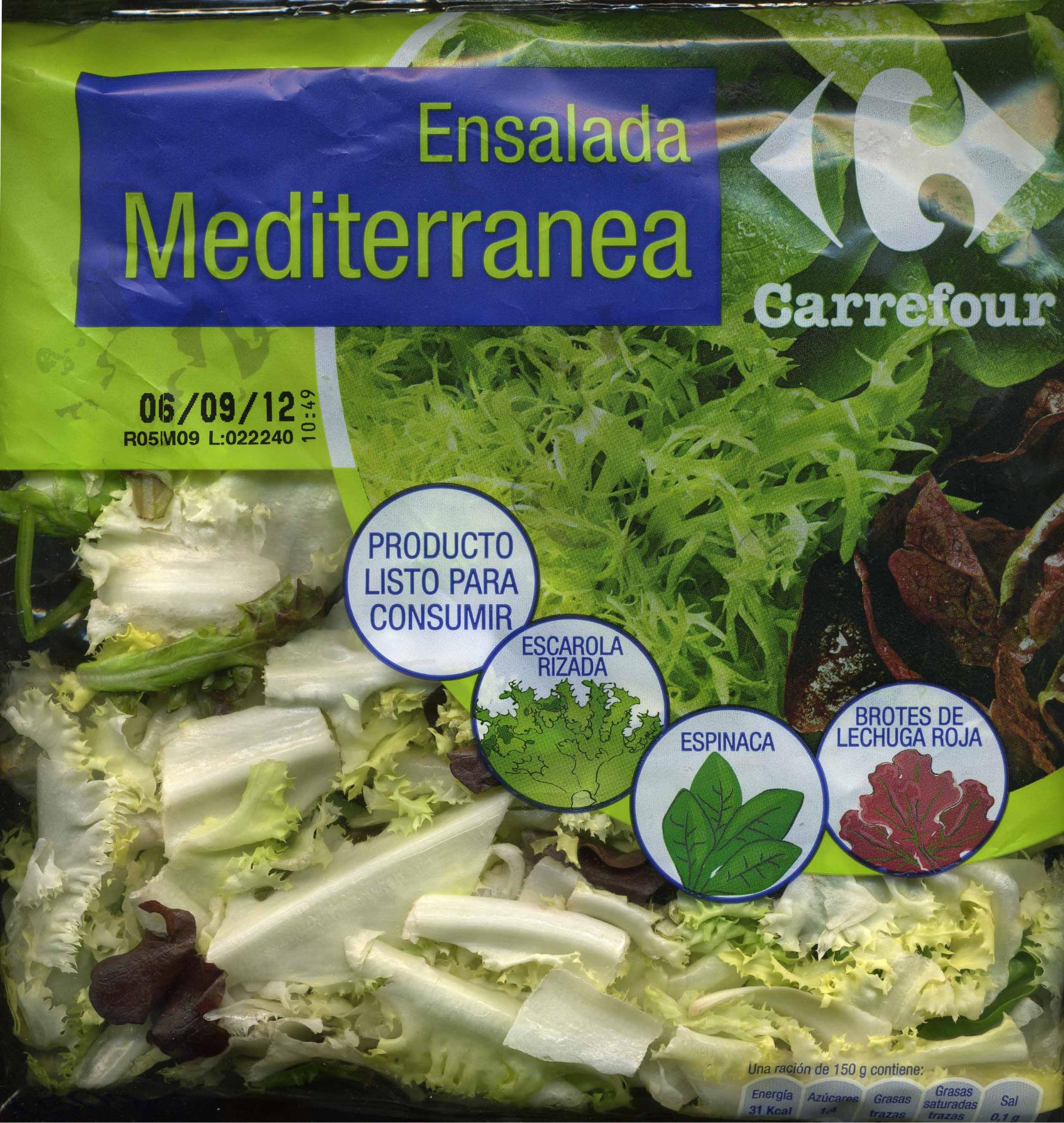 Ensalada Mediterránea - Produit - es