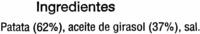"Patatas fritas onduladas ""Carrefour"" - Ingredientes - es"