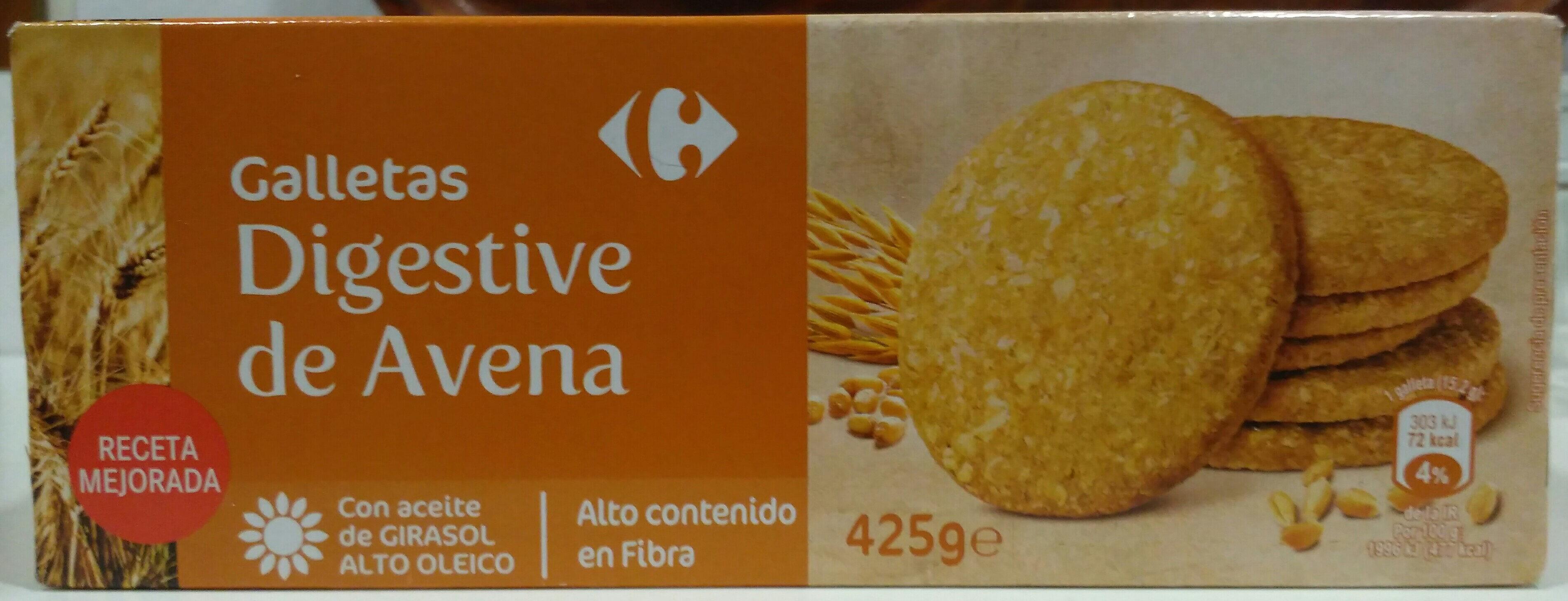 Galletas digestivo de avena - Product - es
