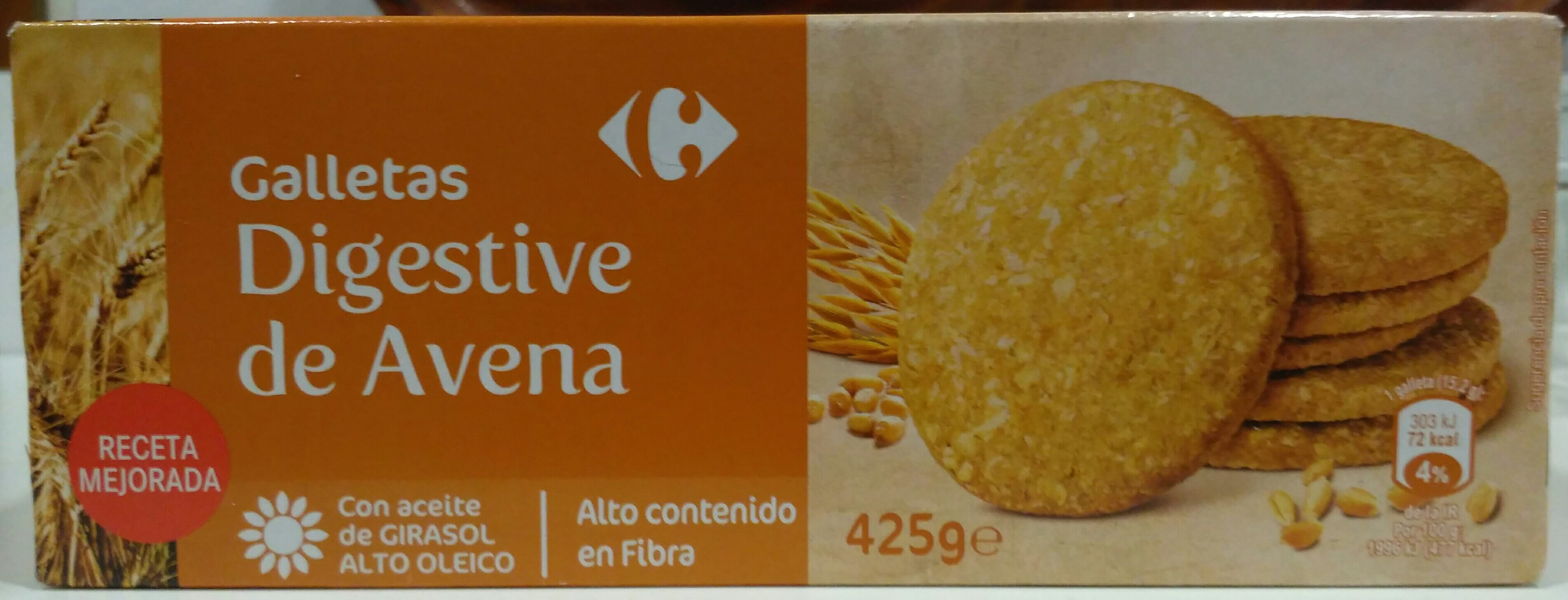 Galletas digestivo de avena - Produkt