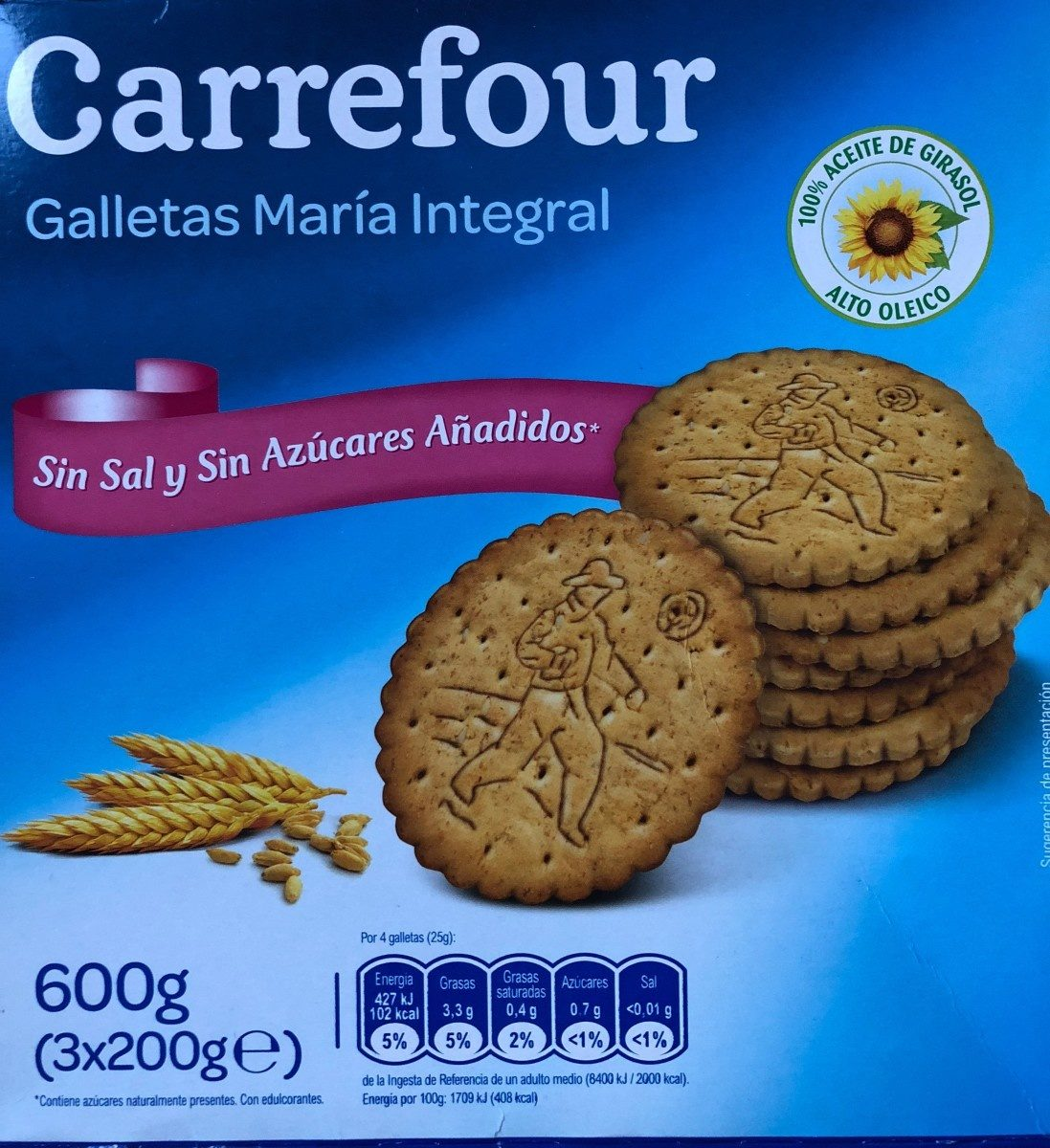 Galletas María Integral - Product