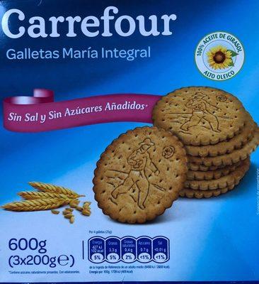 Galletas María Integral - Produit