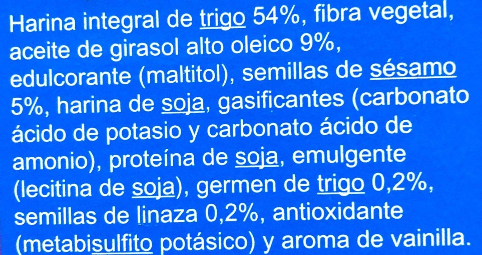 Galletas María Integral - Ingredients
