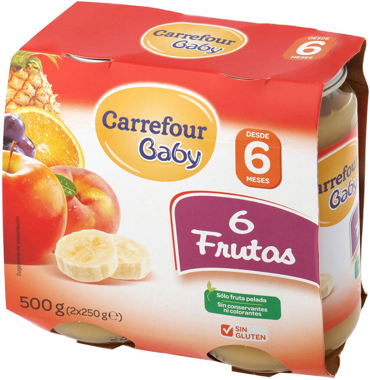 Tarrito 6 frutas - Producto - es