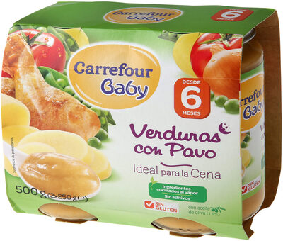 Tarrito verdura con pavo - Produit