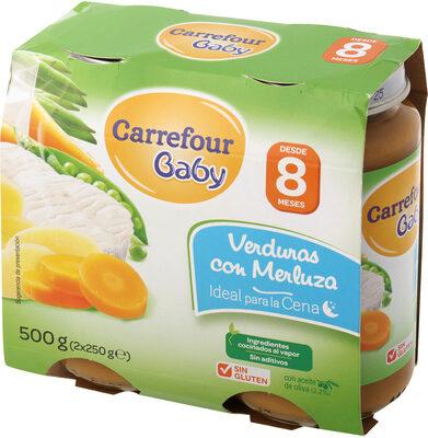 Tarrito verdura con merluza - Produit