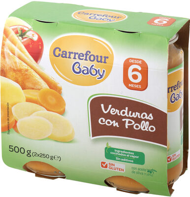Tarrito verdura con pollo - Produit - es