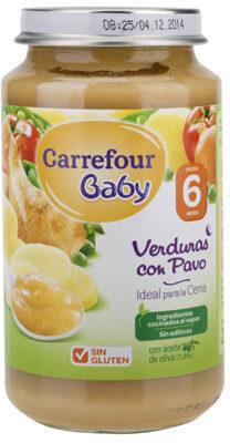 Tarrito verdura con pavo - Produit - es