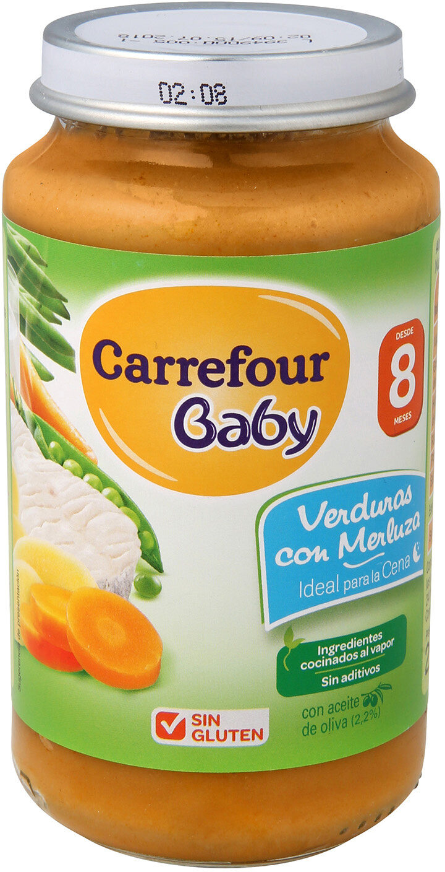 Tarrito verdura con merluza - Producte - es